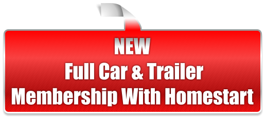 NEW  Full Car & Trailer Membership With Homestart